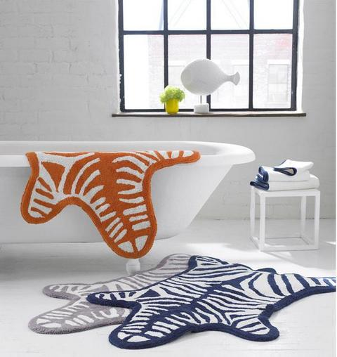 Animal Prints Bathroom Rugs Will Add That Extra Zing To Your