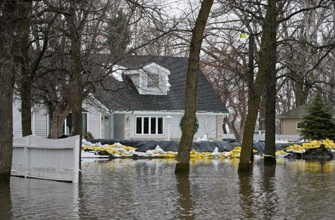Flood can cause an extensive damage to home