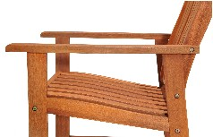 Garden wooden chair