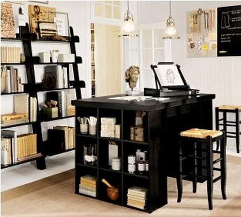 Harmonized home office furniture