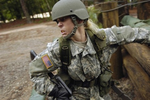 Women now enjoy more equality in the armed forces